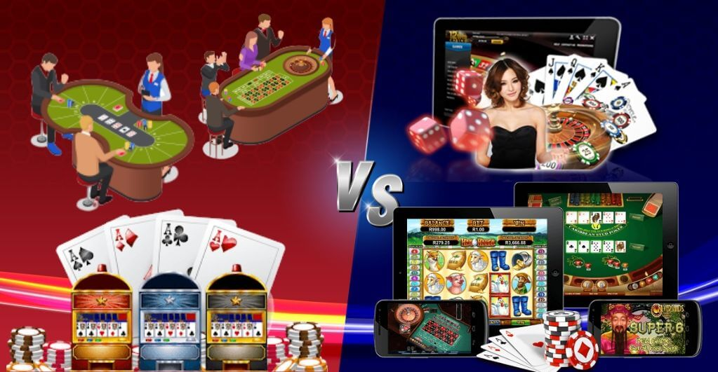 Online Casino VS Traditional Casino
